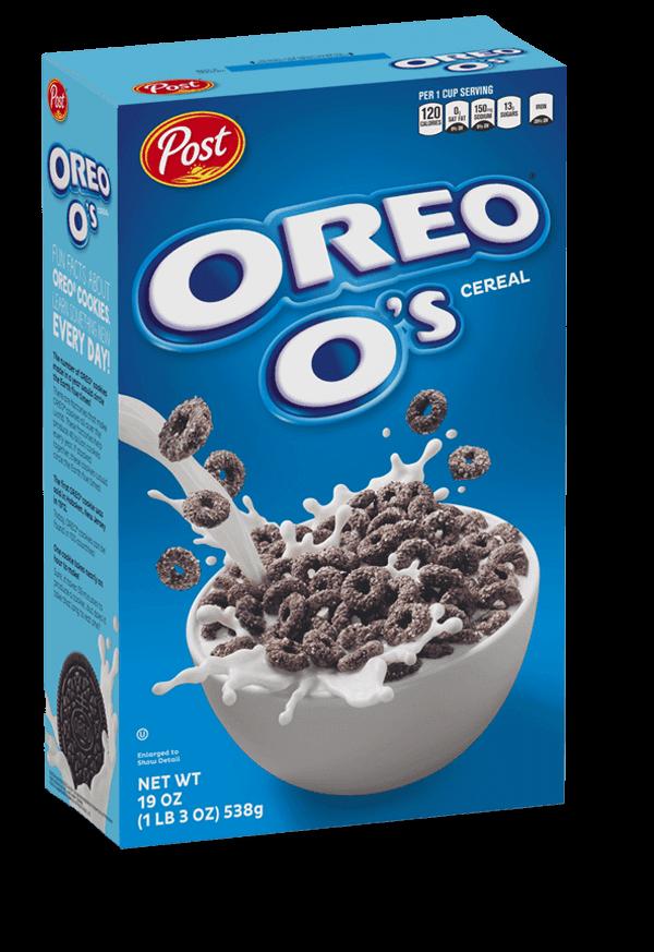 Oreo O's Cereal box