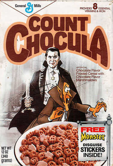 Count Chocula wearing Star of David on controversial cereal box